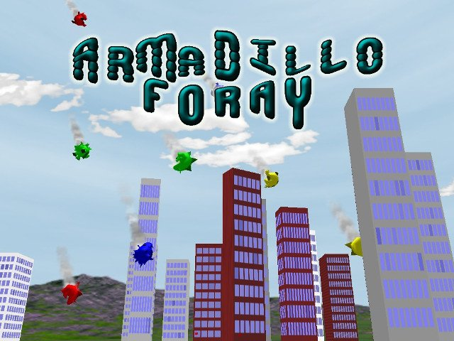 Armadillo Foray - PC Game